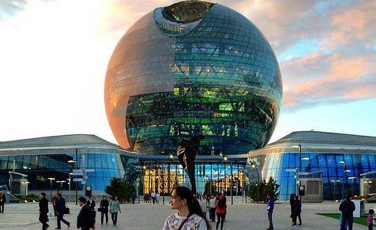 Nur-Sultan Sightseeing PM Gruppetur