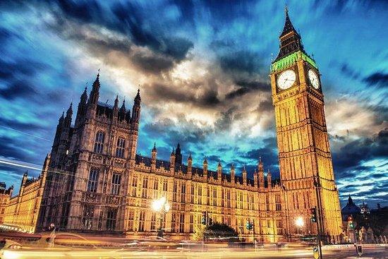 伦敦夜间观光公共汽车之旅与现场评论