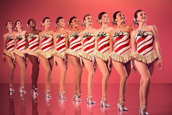 Radio City Rockettes and Times Square...