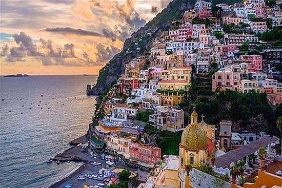 Pompéia e Amalfi costa de Roma