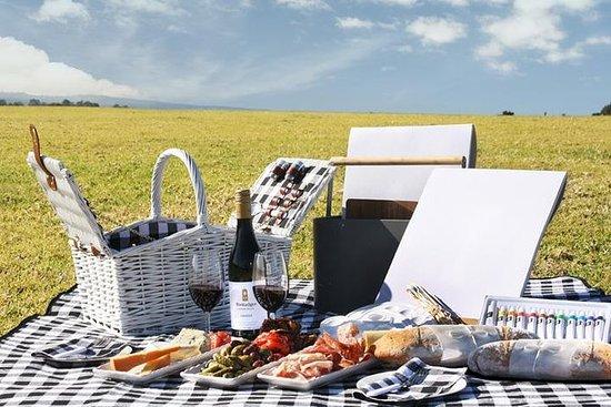 Bimbadgen葡萄园:野餐绘画和品酒之旅