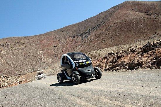生态越野车Twizy,火山,cip munks和沙丘