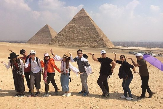 Privat halvdagstur til Giza pyramider...