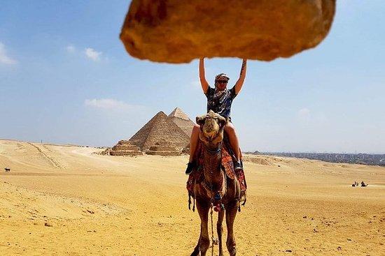 Giza pyramider sphinx lunsj inkludert...