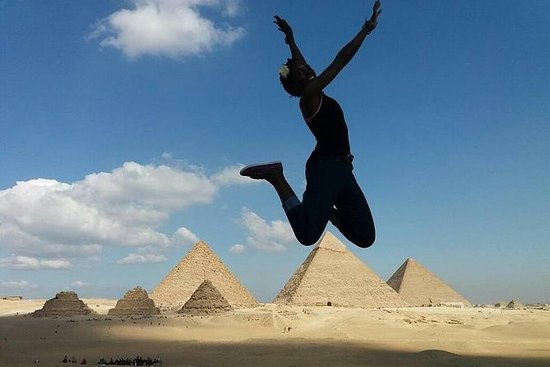 Halvdagstur til pyramidene og sfinxen