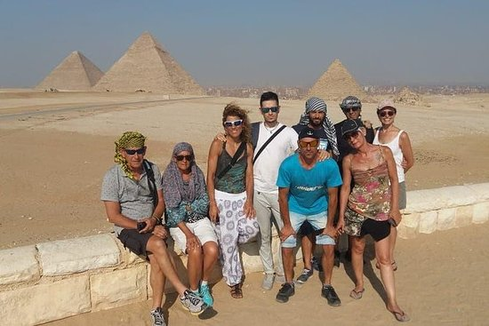 Giza pyramids cairo day tour from...