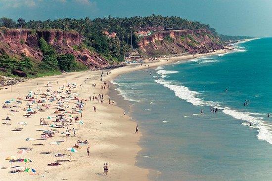 Varkala Cliffs Beach Tour from Trivandrum