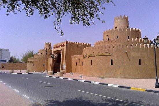Visite de la ville d'Al Ain au départ...