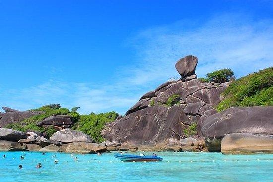 Similan Islands Day Trip in motoscafo