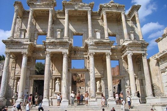 Group Tour of Ephesus, The House of...