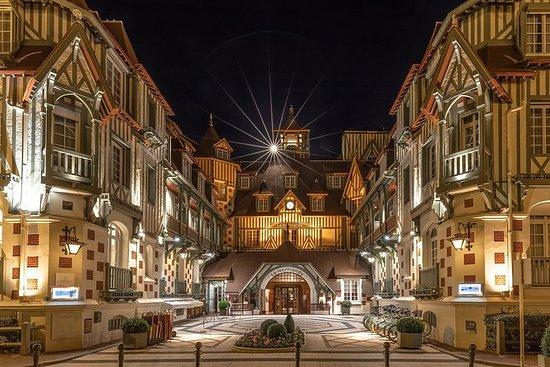 Tour privado de Deauville à noite em...