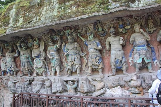 Private one day Dazu Rock Carvings...