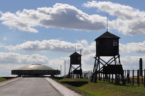 Majdanek - Camp allemand de la seconde guerre mondiale - Visite...