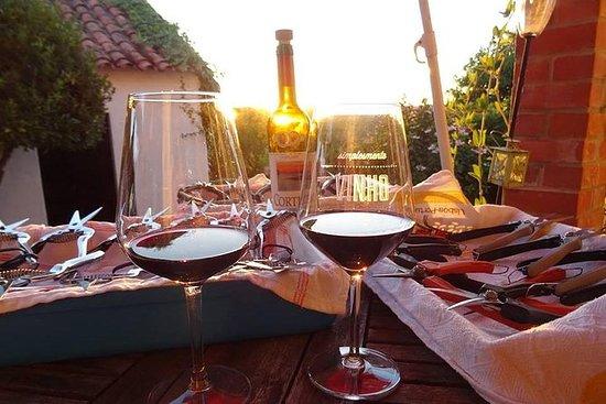 Wijnproeven met eten, Óbidos ...
