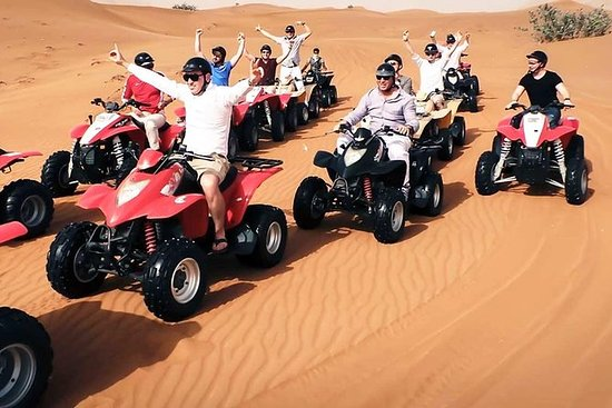 Quad Cykling Dubai ATV Bike Ride