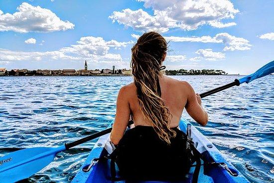 Sea kayaking Porec Islands