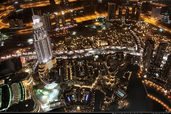 Dubai by Night, dette er en av de...