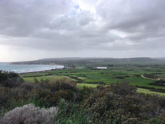 Looking back toward Avdimou Bay.
