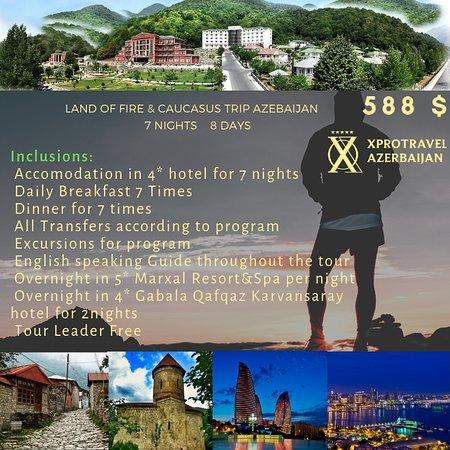 Aserbaidschan: путешествуйте с нами