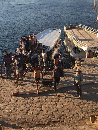 Felucca Ride on The Nile in Aswan: Felucca sailing on the Nile in Aswan ...