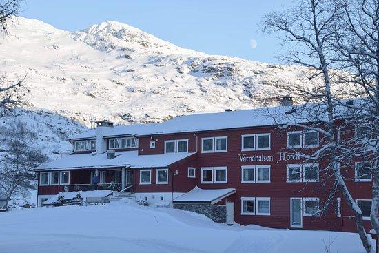 Sitting area with great views – Billede af Vatnahalsen Hoyfjellshotell, Myrdal - Tripadvisor