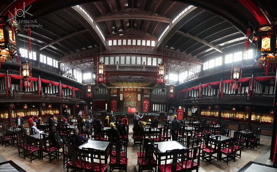 Guangdong Guild Hall: Panoramic View of the Hall