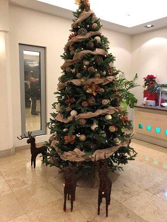 Valamar Diamant Hotel & Residence: Christmas time in the restaurant of Valamar Diamant Hotel