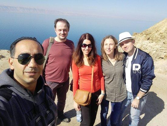 Dead Sea Region, Ürdün: في البحر الميت مع اجمل ضيوف من بولندا