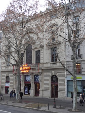 Theatre de la porte saint martin theatre de la porte saint martin - Theatre de la porte saint martin plan ...