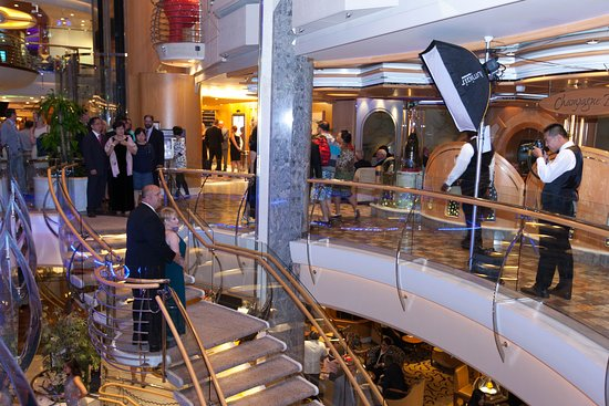 Captain's Welcome Aboard Reception on Independence of the Seas