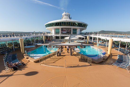 The Main Pool on Navigator of the Seas