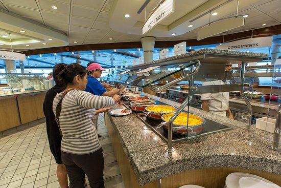 Windjammer Cafe on Navigator of the Seas