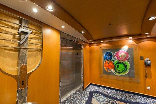 Elevators on Navigator of the Seas