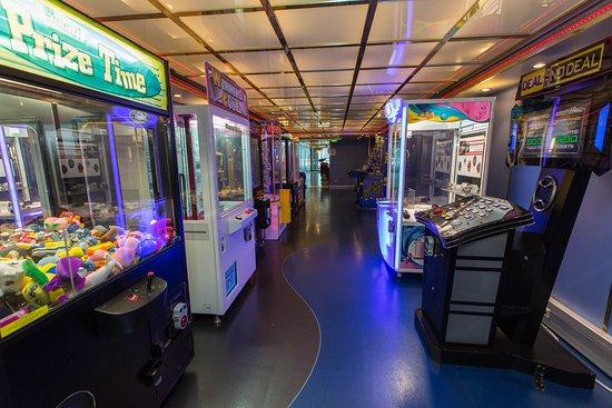 Video Arcade on Navigator of the Seas