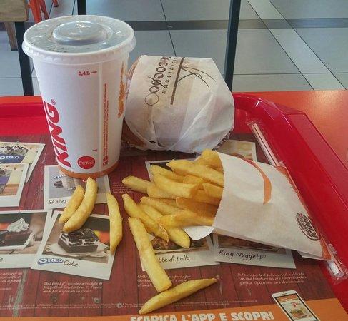Burger King: Bacon King menù medio