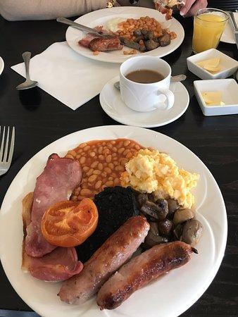 Aspley Guise, UK: Great breakfast options.....