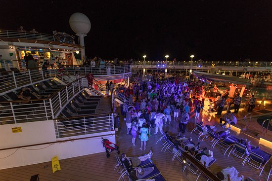 The Decks on Navigator of the Seas