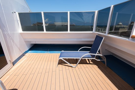 The Captain's Suite on Carnival Liberty