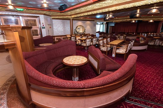 Victoria Lounge on Carnival Liberty