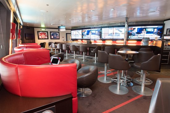 Sports Bar on Carnival Liberty