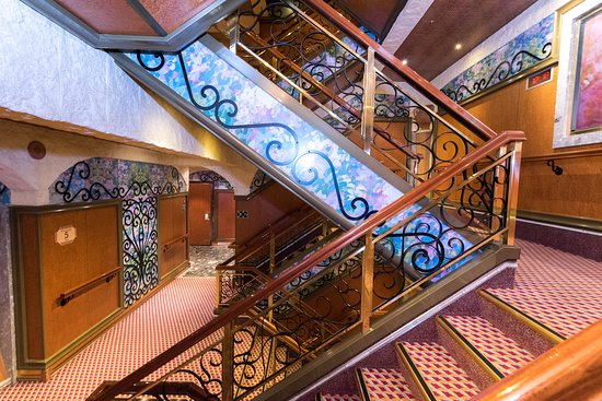 Stairs on Carnival Liberty