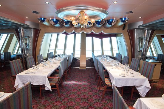 Silver Olympian Dining Room on Carnival Liberty
