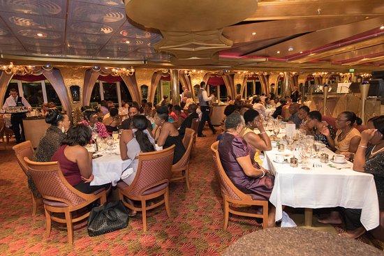Golden Olympian Restaurant on Carnival Liberty