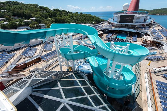 The Coney Island Pool on Carnival Liberty
