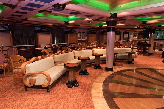 The Cabinet Bar on Carnival Liberty