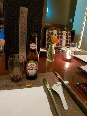 Um drink no jantar