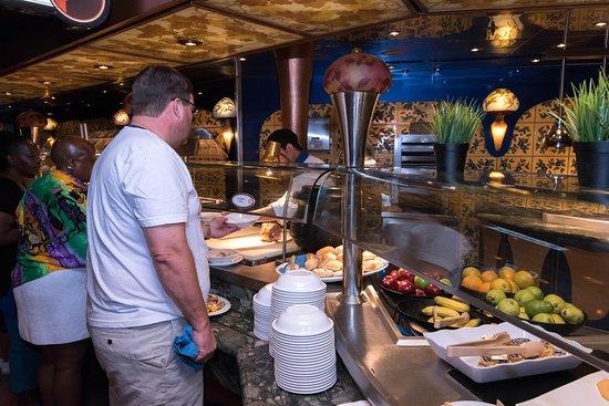 Carnival Liberty: Emile's Lido Restaurant on Carnival Liberty