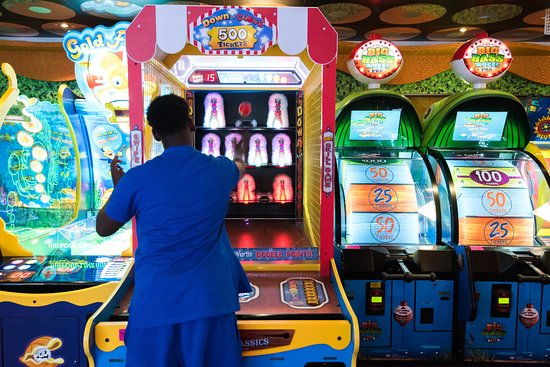 Carnival Liberty: Without Batteries Arcade on Carnival Liberty