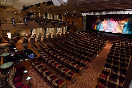 Palladium Theatre on Grandeur of the Seas