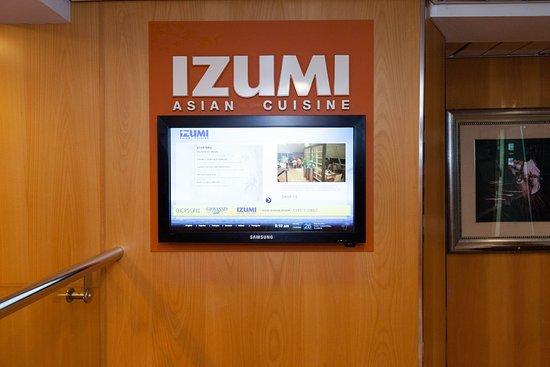 Grandeur of the Seas: Izumi Asian Cuisine on Grandeur of the Seas